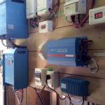 Tablero solar fotovoltaico